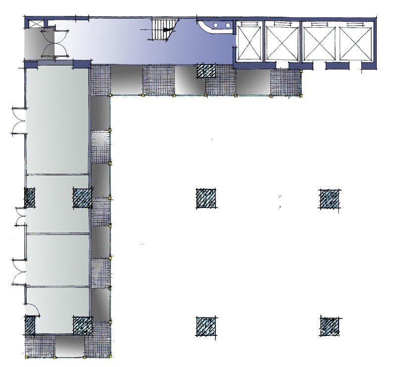 14 Wang Tai Road Remodelling plan view drawing