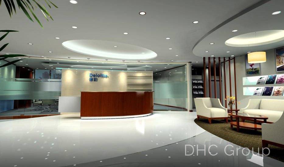 deloitte entrance 3D