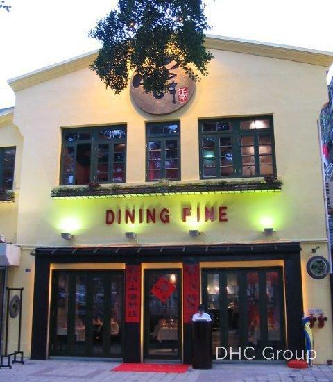 dining fine entrance