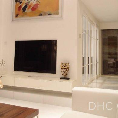 Living Room Model House Le Regent decoration slide